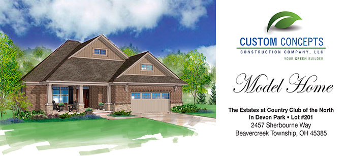 Custom Concepts Model Home For Sale